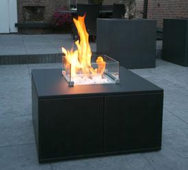 Open haard in tafel verwarming van het huis met brandhout - Tafel josephine wereldje van het huis ...